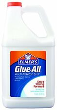 Elmers E1326 Glue-All White Glue, Repositionable, 1-Gallon