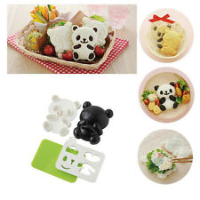 Lonely Bento Mold Rice Mold Onigiri Shaper and Dry Roasted Seaweed Cutter Set