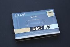 1x TDK MA-XG90 (Type IV) Metal Audio Cassette Tapes (Made in Japan) ©1990