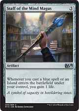 MTG STAFF OF THE MIND MAGUS FOIL EXC BASTONE DEL MAGUS MENTALE