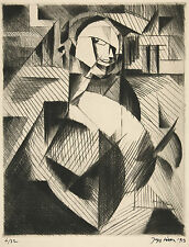 Jacques Villon Reproduction: Portrait of an Actor - Fine Art Print