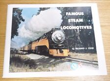 VTG 1974 FAMOUS STEAM LOCOMOTIVES BY RICHARD J COOK- BLE SUPPORTED #49