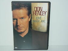 "*****DVD-DON HENLEY""LIVE-INSIDE JOB""-2000 BMG Image*****"