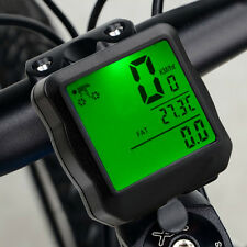 Hot LCD Bicycle Bike Cycling Computer Odometer Speedometer Velometer Backlight