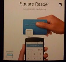 White Square 2015 Credit Card Reader for Apple & Android w/$10 Rebate New