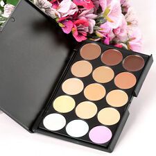 15 Colors Makeup Neutral Face Eye shadow Camouflage Cosmetic Concealer Palette