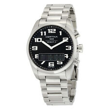 Certina DS Multi-8 Black Dial Stainless Steel Mens Watch C020.419.11.052.01