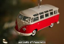Custom '60 '61 Volkswagen T2 Split Window Bus Christmas Ornament VW Van Kombi