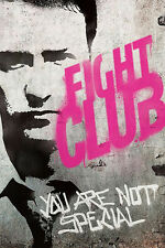 Fight Club Movie Poster Fabric Silk Print 60x90cm Art Wall Decor 4
