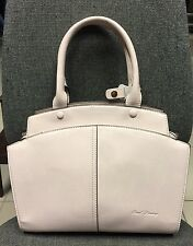 Ladies Light Beige/Pink Genuine Leather Bag -Paul Danny- Perfect Christmas Gift