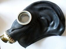 RUBBER GAS MASK GP-5 ONLY Russian soviet Black  Helloween, size 0,1,2,3,4
