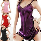 Sexy Fancy Womens Lingerie Lace Dress Underwear Babydoll Sleepwear Nightgown New