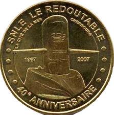 50 CHERBOURG SOUS MARIN REDOUTABLE 2 MÉDAILLE MONNAIE DE PARIS 2007 JETON MEDALS