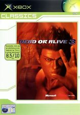 DEAD OR ALIVE 3 - DOA 3 for Xbox - with box & manual