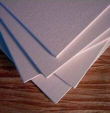 """12 PACK 8"""" x10"""" Canvas Panels Blank Cotton Stretched Mounted Artist Art Painting"""