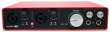 Focusrite SCARLETT 6I6 MK2 192kHz USB Audio Recording Interface+Pro Tools First