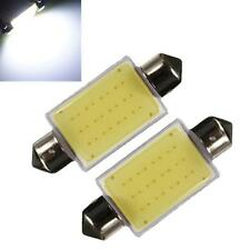 2PCS 3W COB White LED Car Reading Lamp 41mm Festoon Dome 12 Chips DC 12V Hot