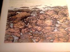 Peter Holbrook Surf Point Signed Lithograph 1982 Edition 42/150