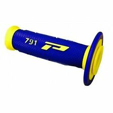 Progrip Dual Compound Motorbike Grips Yamaha YZ250F YZF250 Blue Yellow 791BY