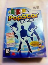 Nintendo Wii - Pop Star Guitar + AirG Included - Brand New
