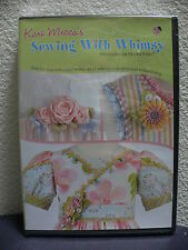 Kari Mecca's SEWING WITH WHIMSY Introduction by Martha Pullen NEW DVD SEALED