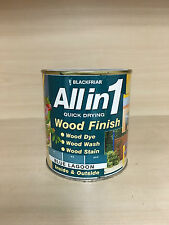 Blackfriar All in 1 Quick Drying Interior/Exterior Wood Finish Blue Lagoon 500ml