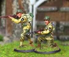 THE COLLECTORS SHOWCASE WW2 AMERICAN CBA045 101ST AIRBORNE B.A.R TEAM MIP