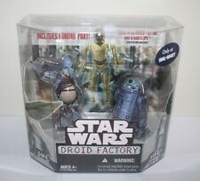 STAR WARS HASBRO 2008 WAL-MART DROID FACTORY WATTO & R2-T0 W/C-3PX BAF PART