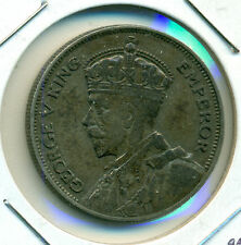 1934 NEW ZEALAND SILVER HALF CROWN, VERY FINE-EXTRA FINE, GREAT PRICE!
