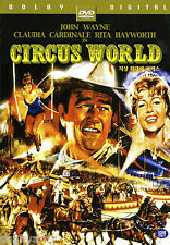 Circus World - John Wayne Rita Hayworth Claudia Cardinale (NEW) Classic DVD