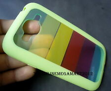 Rainbow Back+ Green Tpu Bumper Case,Cover for Samsung Galaxy Grand Duos i9082