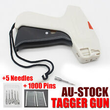 Clothes Garment Price Label Tagging Tags Gun Machine+1000 Barbs+5 Steel Needle A