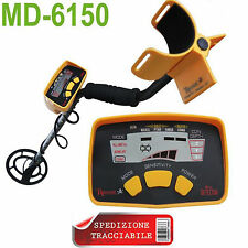 MD-6150  nuovo Metal Detector Gold Digger LCD Display oro metalli tipo garret