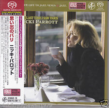Nicki Parrott The Last Time I Saw Paris Japan Venus Records Audiophile DSD SACD