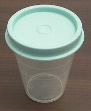 Tupperware C 46 Wichtel 50 ml kleiner Behälter klar - Deckel helltürkis mint Neu