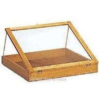 "Jewelry Display Case Countertop Clear View Top Retail Merchandise 24"" x 36"" x 4"""