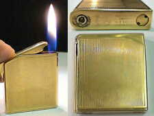 BRIQUET Ancien * MARUMAN Halley Deluxe * Vintage gas LIGHTER Feuerzeug Accendino