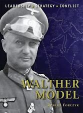 WALTHER MODEL Background Strategies Tactics Battlefield Experiences WWII Osprey