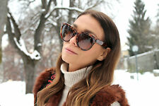 BABY AUDREY Sunglasses BROWN womens oversized designer fashion big huge 41755