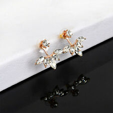 1 Pair New Fashion Women Lady Elegant Crystal Rhinestone Ear Stud Earrings Charm