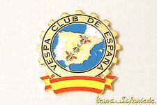 "VESPA Metall-Plakette ""Vespa Club de España"" - Klub Spanien Spain Emblem Emaille"