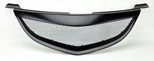 Mazda 3 04-06 4Dr Sedan Metal Mesh Matte Black Front Hood Bumper Grill