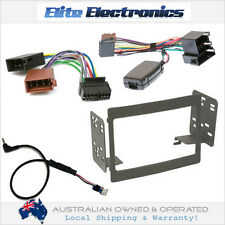 OEM STEERING WHEEL CONTROL + ISO HARNESS + FACIA KIT FOR HOLDEN COMMODORE VY-VZ