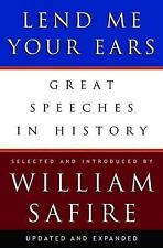 Lend Me Your Ears: Great Speeches in History by William Safire brand new hc w/dj