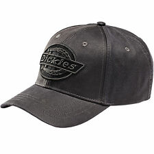 DICKIES HARRISON BASEBALL CAP BLACK COTTON HA8010