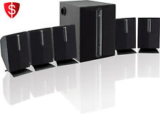 5.1 Channel 6 Speakers Surround Sound System Home Theater Subwoofer Audio DVD
