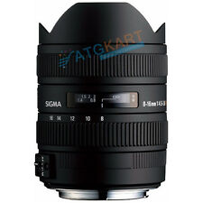 *New* Sigma AF 8-16mm F4.5-5.6 DC HSM for Nikon  Lens Brand