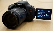 MINT Canon Rebel T3i 18.0 MP SLR Camera With EF-S 18-135mm IS LENS.