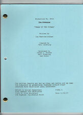 "THE SIMPSONS show script ""Trash Of The Titans"""
