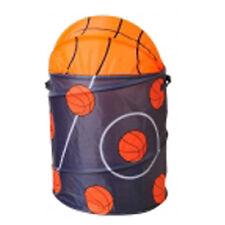 Portabiancheria o portagiocattoli 63x37 cm a forma di pallone da basket